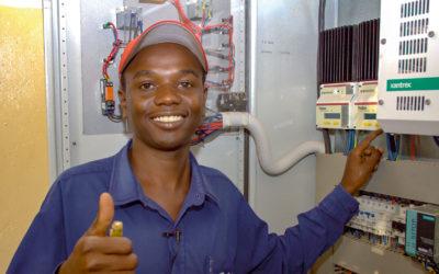 Photovoltaikanlage für das St. Mary's Hospital in Isingiro, Tansania