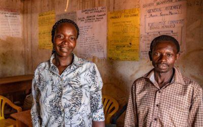 Zwei Laptops für die Kaffee Kooperative in Uganda